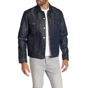Levi's Mens Trucker Denim Jacket -Gold Weft Crispy